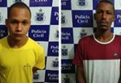 Três suspeitos de tráfico são detidos em megaoperação em Valença | Foto: Divulgação | SSP-BA