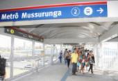 Metrô amplia horário de funcionamento para o Salvador Fest | Foto: Luciano da Matta | Ag. A TARDE