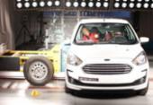 Ford Ka recebe 3 estrelas para adultos em crash test | Foto: Divulgação