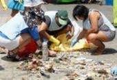 Dia Mundial da Limpeza (O World Cleanup Day) promove ações em praias de Salvador | Foto: Luciano da Matta | Ag. A TARDE