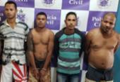Seis suspeitos são presos e mais de R$ 75 mil apreendidos em Alagoinhas | Foto: Alberto Maraux | Divulgação | SSP-BA