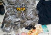 Suspeitos são presos com mais 200 porções de drogas no Recôncavo | Foto: Divulgação | SSP-BA
