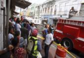 Acesso do Aquidabã para a Baixa dos Sapateiros é bloqueado após incêndio | Foto: Luciano da Matta | Ag. A TARDE