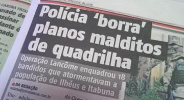 Foto do Jornal - Jornalista Misterioso