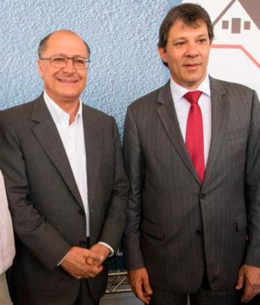 Haddad e Alckmin estarão na Bahia nos próximos dias - Foto: Eduardo Saraiva   A2img   Fotos Públicas