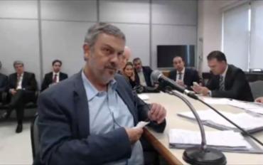 Palocci também citou Delúbio Soares, Paulo Ferreira e João Vaccari Neto - Foto: Reprodução