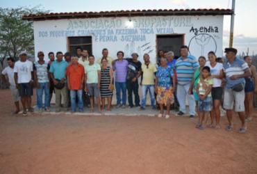 Adutora levará água encanada para comunidade da Pedra Sozinha, em Canudos