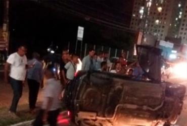 Acidente em Itapuã deixa duas pessoas feridas | Cidadão Repórter