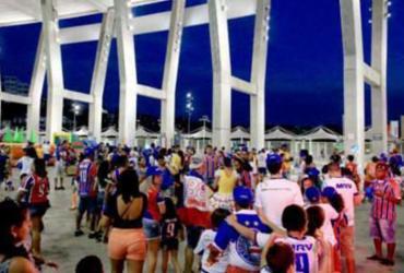 Bahia promove evento para torcida na Fonte Nova | Reprodução | EC Bahia