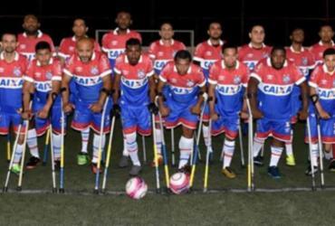 Bahia é vice da Copa Nordeste de Amputados | Divulgação | EC Bahia