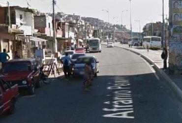 Homem é vítima de tentativa de homicídio na Baixa do Fiscal | Reprodução | Google Maps