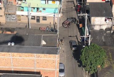 Operação aérea recupera carga de cosméticos roubada em Salvador | Divulgação | SSP-BA