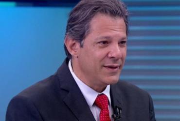 Haddad: campanha de Bolsonaro é baseada em mentiras no WhatsApp   Reprodução   TV Globo