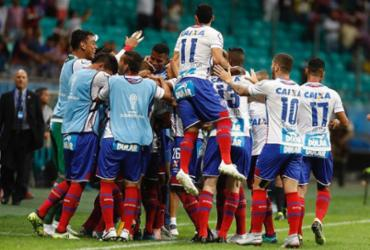 Veja imagens de Bahia x Botafogo pela Sul-Americana |
