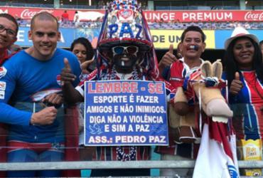 Bahia enfrenta o Palmeiras na Fonte Nova |