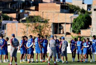 Bahia encerra preparação para enfrentar o Vasco