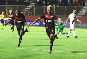 Com gol de Erick, Vitória bate o Vasco no Barradão e se distancia do Z-4 | Tiago Caldas | Ag. A TARDE