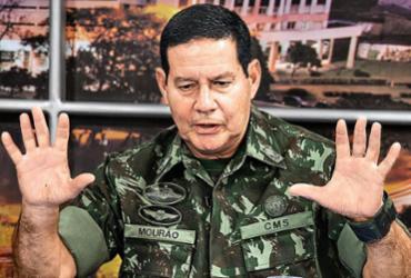 General Mourão contraria Bolsonaro e grava vídeo em apoio a Doria | Divulgação