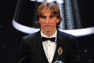 Modric acaba com hegemonia de Messi e Ronaldo e é eleito o melhor do mundo | Ben Stansall | AFP