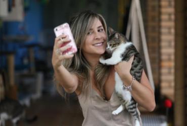 Babás de pet ganham espaço em Salvador como uma alternativa aos hotéis para animais | Luciano Carcará / Ag. A TARDE