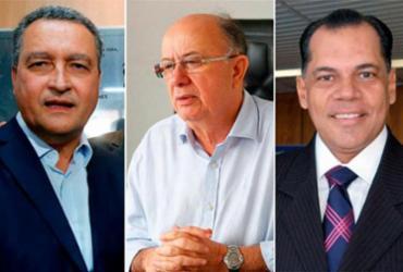 Ibope/BA: Rui Costa (PT) tem 60%; José Ronaldo (DEM), 7%, e João Henrique (PRTB), 2% | Montagem l Ag. A TARDE