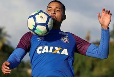 Em fase 'paz e amor', Gregore celebra sequência no Bahia | Felipe Oliveira l EC Bahia