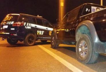 Ações em Jequié prendem homens com documentação falsa e veículo roubado | Divulgação | PRF-BA