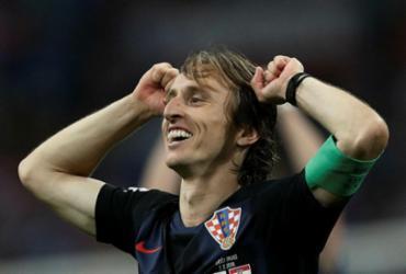 Modric pode encerrar domínio de Ronaldo e Messi em prêmio da Fifa   Adrian Dennis   AFP