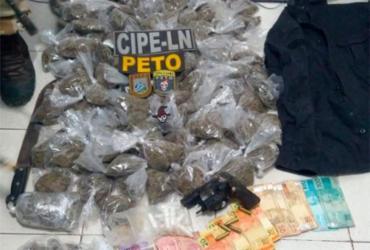 Suspeitos são presos com mais 200 porções de drogas no Recôncavo | Divulgação | SSP-BA