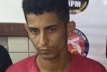 Suspeito de liderar o tráfico de drogas no IAPI é detido em Dias D'Ávila | Divulgação | SSP-BA