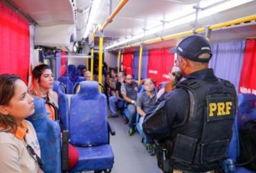 Ações educativas marcam a Semana Nacional de Trânsito em Salvador | Divulgação| PRF