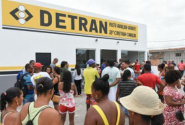 Posto Avançado do Detran é inaugurado em Arembepe