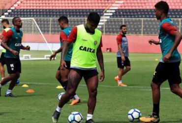 Carpé faz último treino na Toca e Vitória segue para RS | Mauricia da Matta | EC Vitória