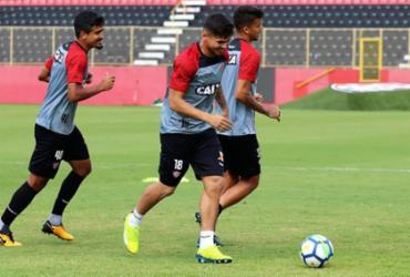 Vitória encerra preparação e viaja para enfrentar o Fluminense | Maurícia da Matta | EC Vitória
