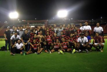 Vitória enfrenta Flamengo no jogo de ida da semifinal do Brasileiro Sub20 | Maurícia da Matta | EC Vitória