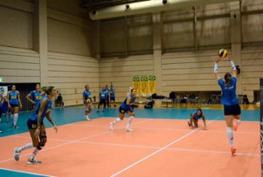 Seleção feminina de vôlei muda horário de treinos para adaptação ao fuso do Japão |
