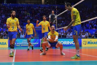 Brasil vence Rússia de virada e fica perto das semifinais do Mundial de Vôlei | Divulgação l FIVB