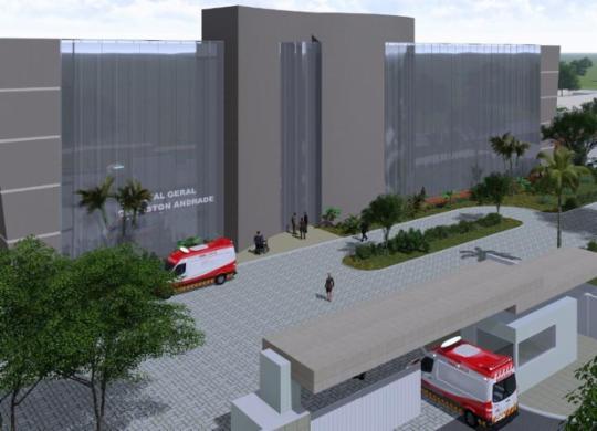Feira de Santana vai ganhar novo hospital geral; investimento será de R$ 67, 5 mi | Divulgação | GOV-BA