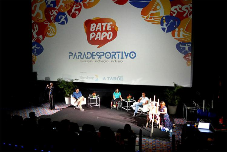 Evento promovido pela parceria A TARDE e Braskem reúne paratletas para discutir a inclusão social e visibilidade do esporte na Bahia e no Brasil
