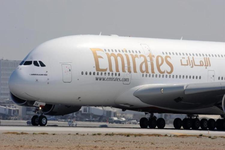 A aeronave pousou na cidade às 9h10 desta quarta-feira, 5 - Foto: Robyn Beck | AFP