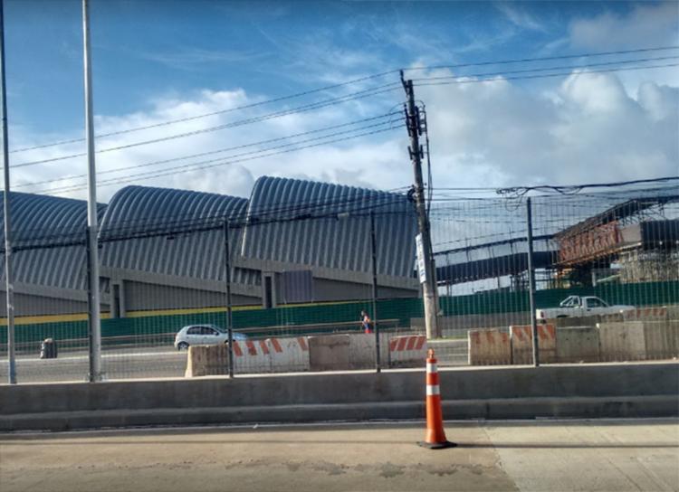 Acidente ocorreu entre as estações Mussurunga e Aeroporto no sentido Aeroporto - Foto: Reprodução | Google Maps