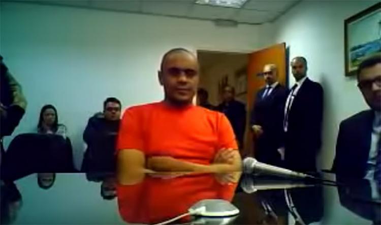Vídeo do depoimento da audiência de custódia vazou nas redes sociais - Foto: Reprodução l YouTube