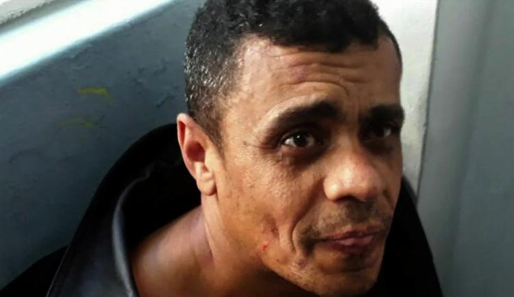 Adélio Bispo de Oliveira, de 40 anos, está detido em delegacia de Juiz de Fora - Foto: Divulgação l Assessoria de Comunicação Organizacional do 2° BPM