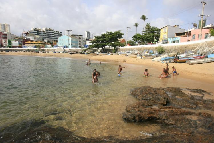 Incidente aconteceu na praia da Paciência - Foto: Joá Souza   Ag. A TARDE
