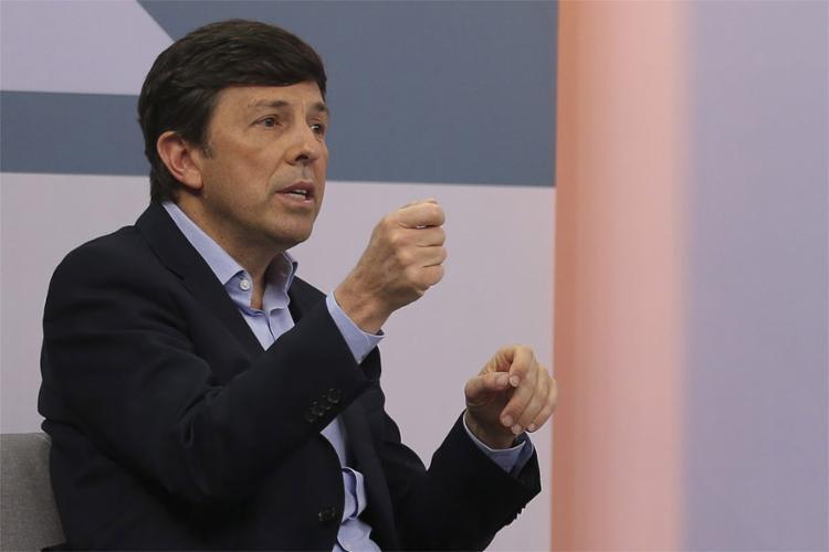 O candidato do Novo disse que não é possível aceitar nenhum ato de violência - Foto: Marcello Casal Jr l Agência Brasil