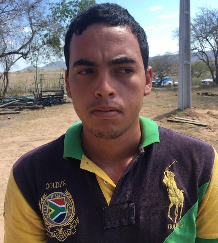 Bruno foi preso por porte ilegal de arma de fogo - Foto: Divulgação   SSP-BA