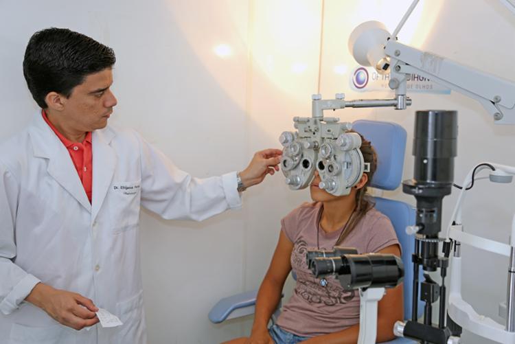 Ao todo serão disponibilizadas 360 fichas para exames e consultas oftalmológicos - Foto: Divulgação
