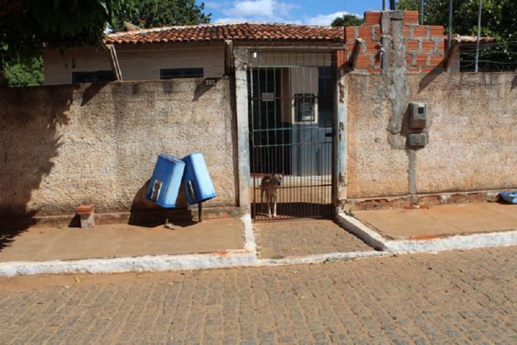 Atualmente, sete presos estão custodiados na delegacia da cidade - Foto: Lay Amorim   Achei Sudoeste