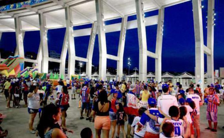 No evento, o Bahia fará a assinatura do novo contrato com a Arena - Foto: Reprodução | EC Bahia