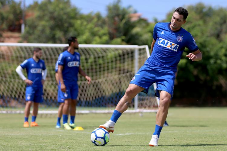 Tricolor terá retornos importantes para partida na Fonte Nova - Foto: Felipe Oliveira   EC Bahia